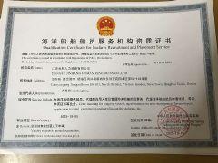 江苏金航人力资源有限公司证照略缩图