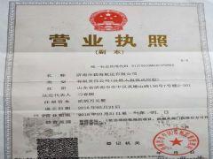 济南市碧海航运有限公司证照略缩图
