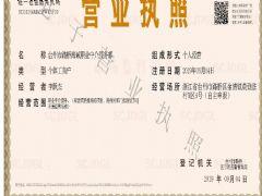 台州市路桥海诚职业中介服务部证照略缩图
