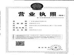 广东粤电航运有限公司证照略缩图